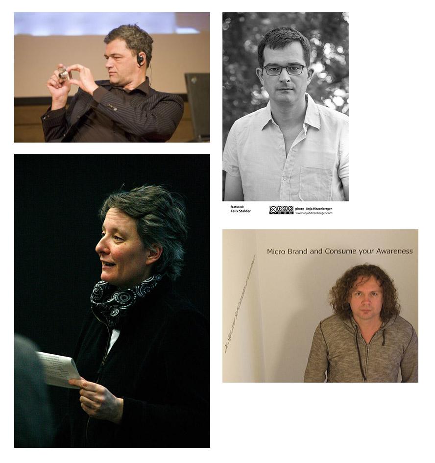Armin Medosch, Felix Stalder, Jutta Weber, Gerald Nestler